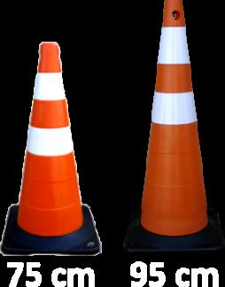 Cone de 75 e 95 cm