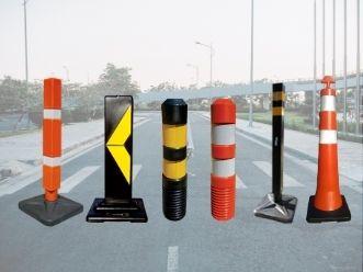 balizadores para sinalização de trânsito