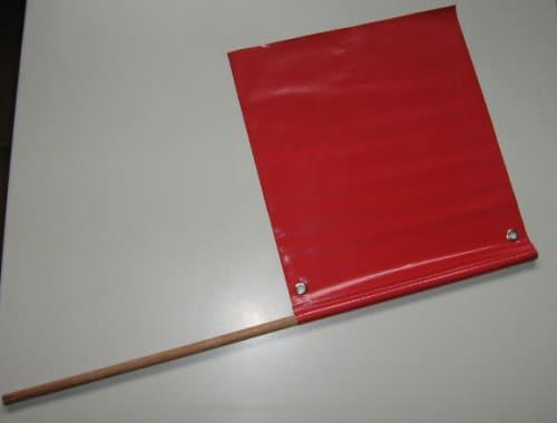 bandeirola para sinalização de trânsito