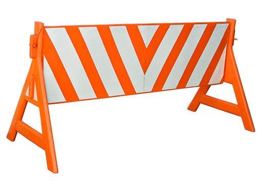 barreira de sinalização de trânsito
