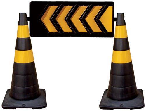 seta para sinalização de trânsito