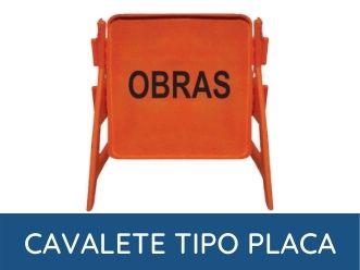 cavalete para sinalização de trânsito