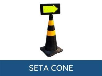 seta para cone